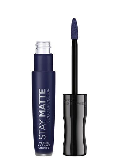 Rimmel London Rimmel London Stay Matte Liquid Lipstick Blue Iris Mavi